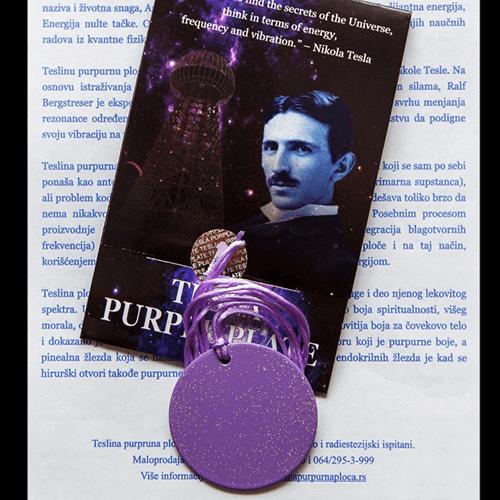 Teslin purpurni medaljon